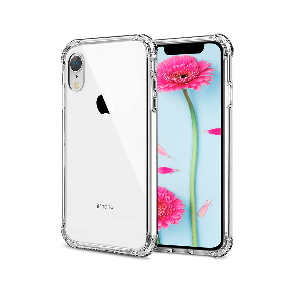 1f6cebb5166 Carcasa Transparente Reforzada iPhone XR | Carcasas Chile