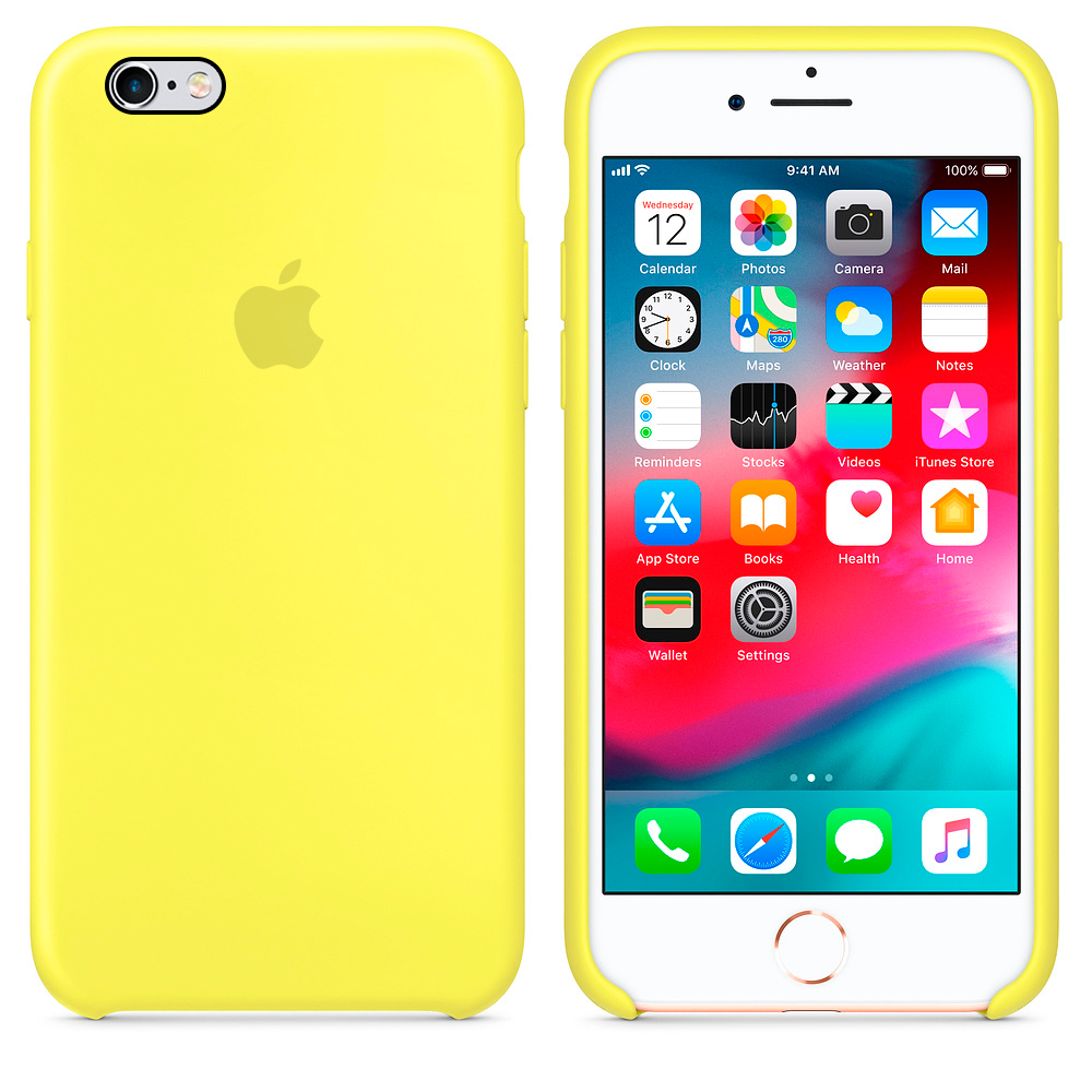 Funda Apple Iphone 6 Amarilla Factory 6cb5b 581cd