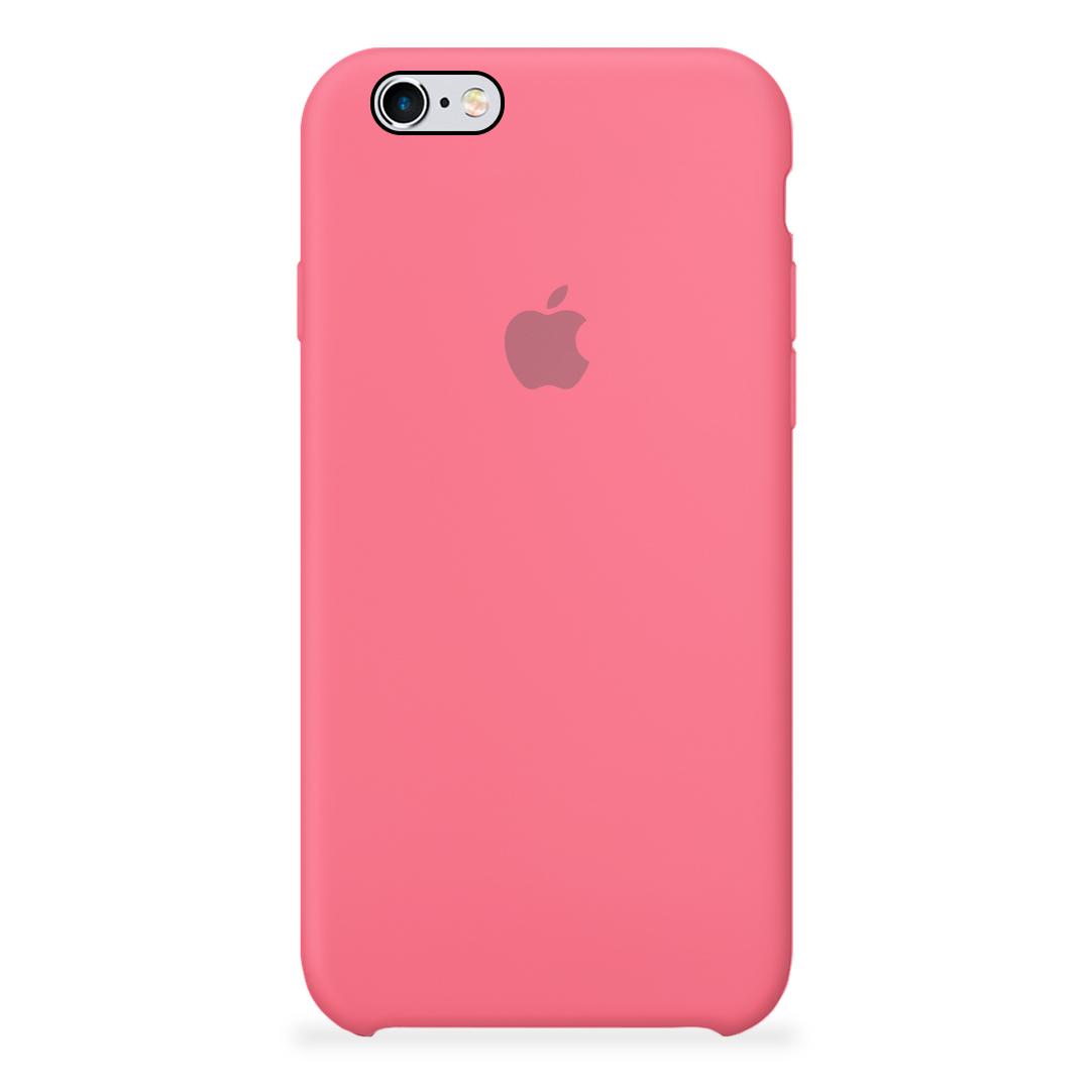 36ae9318fe0 Carcasa Silicona Logo Apple iPhone 6 / 6S Sandia | Carcasas Chile