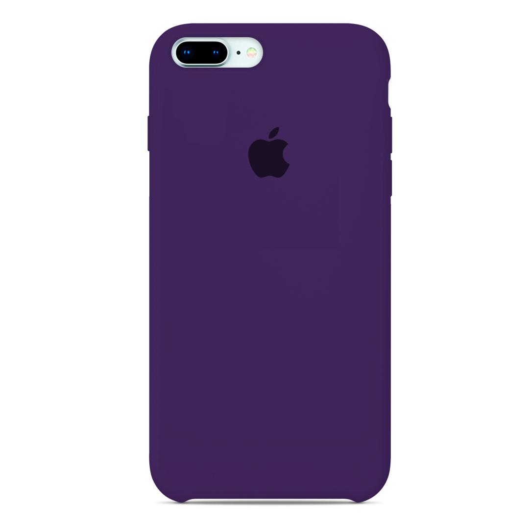 68f01eb1ca9 Carcasa Logo Apple iPhone 7 Plus / 8 Plus Morado   Carcasas Chile