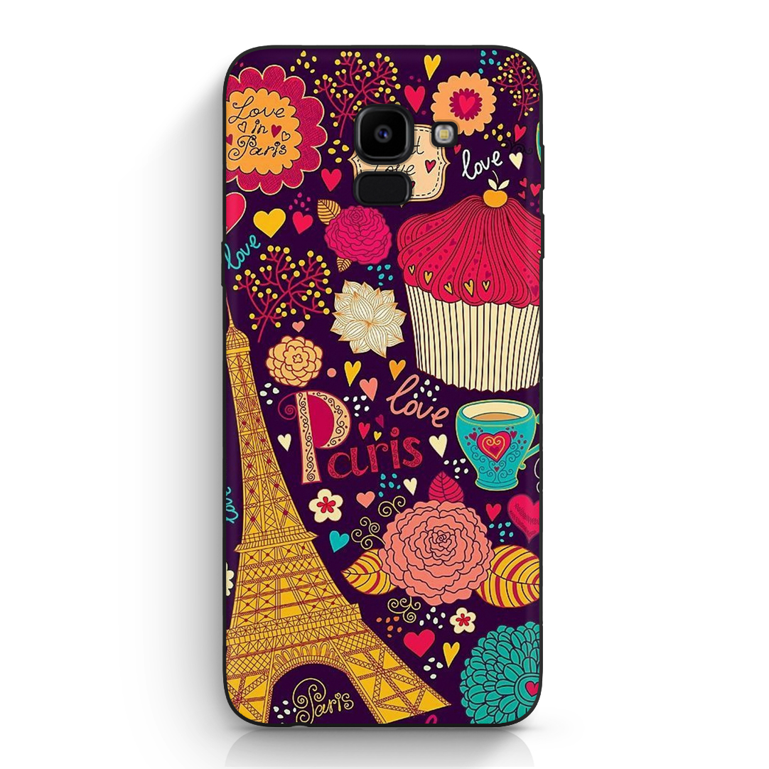 moda de lujo mejor servicio salida online Carcasa Diseños Galaxy J6 2018 Love Paris